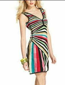 Desigual knitted Multi Color Dress NWD